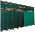 Magnetic chalk board transplant pin board 120x240cm
