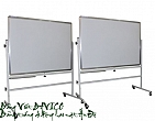 Double sides mobile Board 80 x 120cm